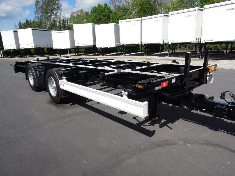#16028 - Bild: 2 | central – axle trailer for Swap Bodies | BDF-System, Jumbo/Maxi Ausführung