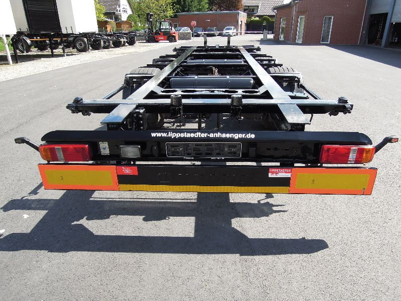 #16028 - Bild: 4 | central – axle trailer for Swap Bodies | BDF-System, Jumbo/Maxi Ausführung