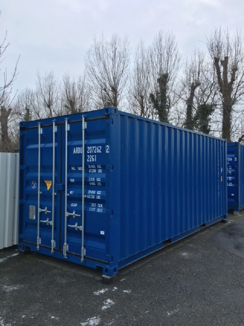 Stahl – Wechselkoffer | Seecontainer 6.060 mm lang, 20 Fuß