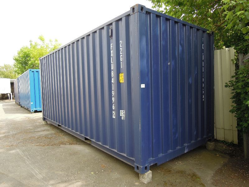 #LA-22-1101 - Bild: 3 | Steel – Swap Body | Seecontainer 6.060 mm lang, 20 Fuß, Lagerbehälter