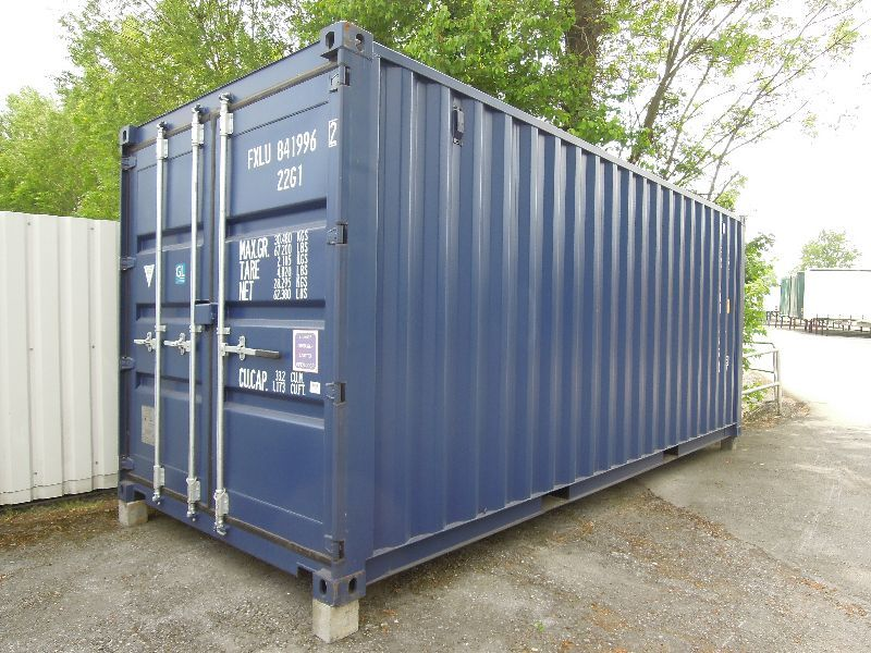 #LA-22-1101 - Bild: 2 | Steel – Swap Body | Seecontainer 6.060 mm lang, 20 Fuß, Lagerbehälter