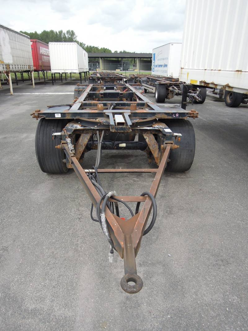 2 – axle trailer for swap bodies | BDF-System, Maxi/Jumbo Ausführung