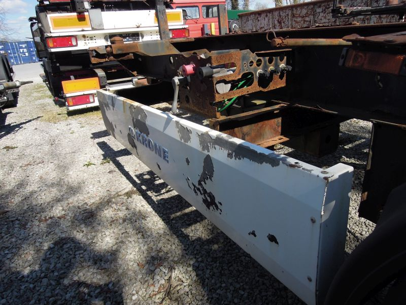 #17810 - Bild: 2 | central – axle trailer for Swap Bodies | BDF-System, Schenker-Version, tiefgekuppelt