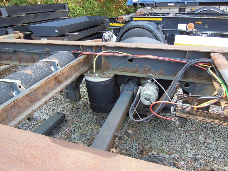 #17810 - Bild: 4 | central – axle trailer for Swap Bodies | BDF-System, Schenker-Version, tiefgekuppelt