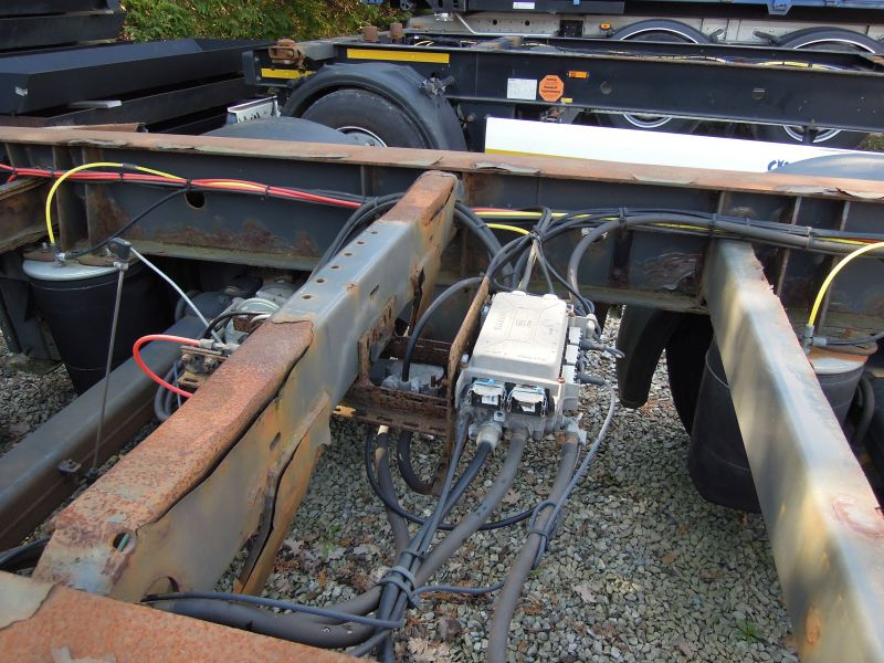 #17810 - Bild: 5 | central – axle trailer for Swap Bodies | BDF-System, Schenker-Version, tiefgekuppelt