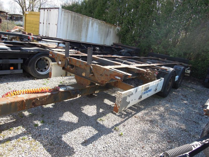 #17810 - Bild: 1 | central – axle trailer for Swap Bodies | BDF-System, Schenker-Version, tiefgekuppelt