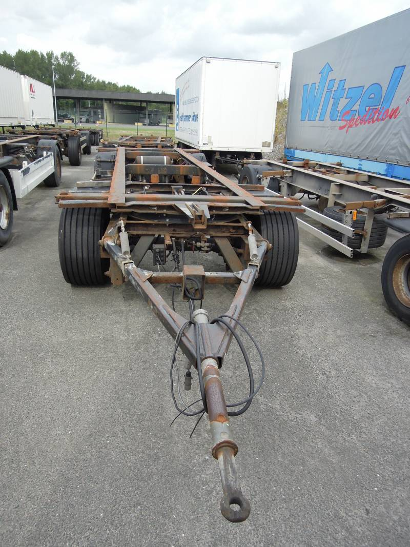 2 – axle trailer for swap bodies | BDF-System, Jumbo/Maxi Ausführung