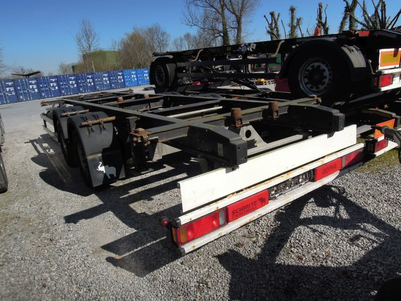 #18034 - Bild: 2 | central – axle trailer for Swap Bodies | BDF-System, Jumbo/Maxi Ausführung