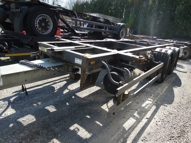 #18034 - Bild: 3 | central – axle trailer for Swap Bodies | BDF-System, Jumbo/Maxi Ausführung