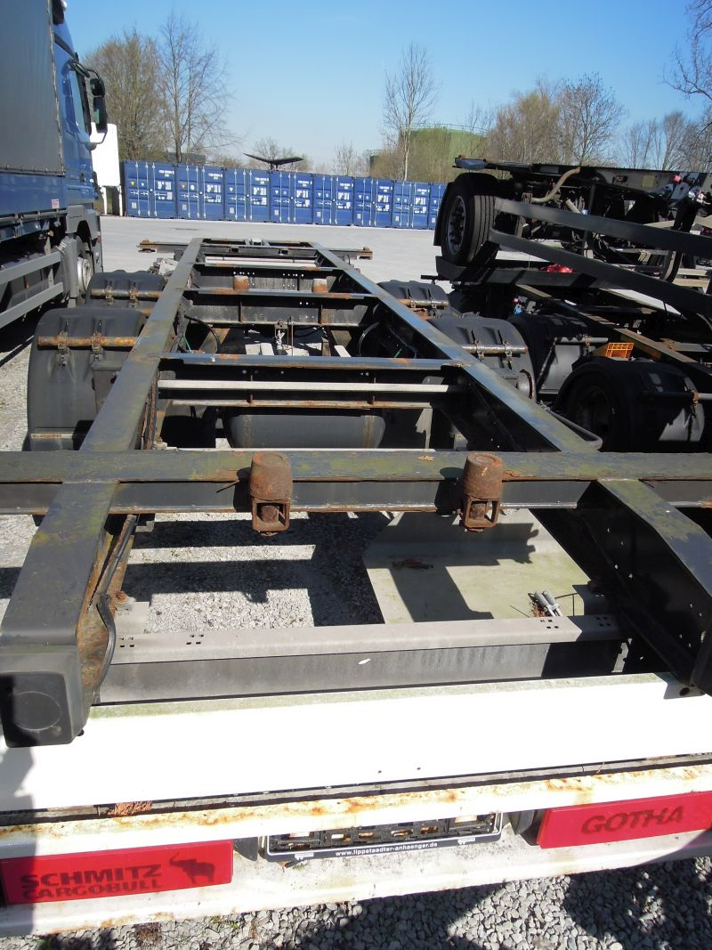 #18034 - Bild: 4 | central – axle trailer for Swap Bodies | BDF-System, Jumbo/Maxi Ausführung