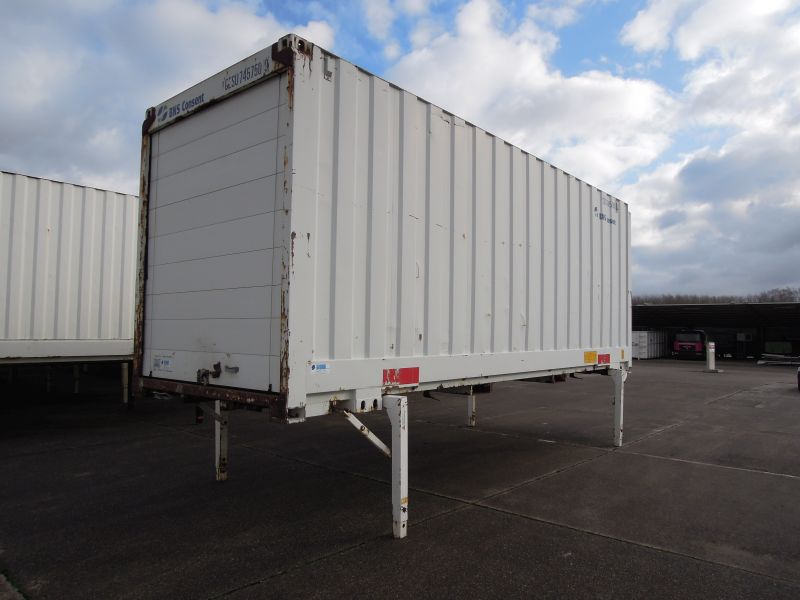 #18286 - Bild: 4 | Stalowy kontener wymienny | BDF-System 7.450 mm lang, Lagerbehälter mit 2.980 mm Eckhöhe
