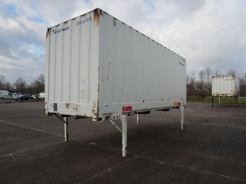 #18284 - Bild: 2 | Caisse mobile en acier | BDF-System 7.450 mm lang, Lagerbehälter mit 2.980 mm Eckhöhe