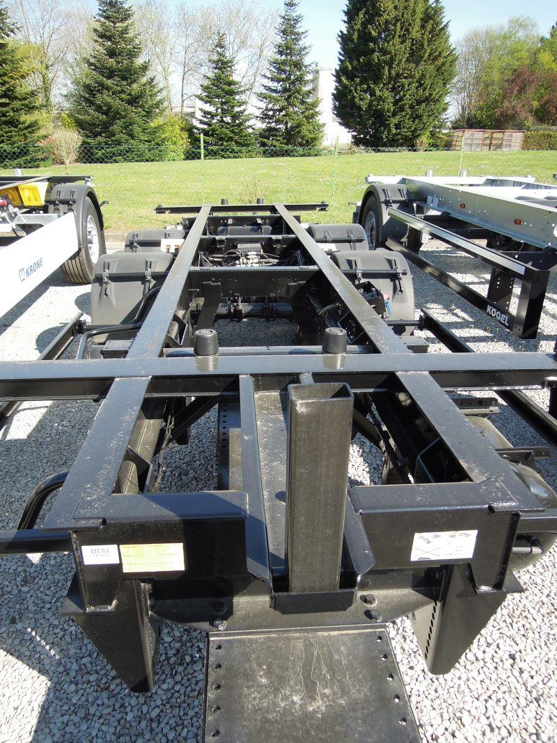 #18367 - Bild: 3 | Remorque essieu central pour caisse mobile | BDF-System, Jumbo/Maxi Ausführung, Lack -NEU-