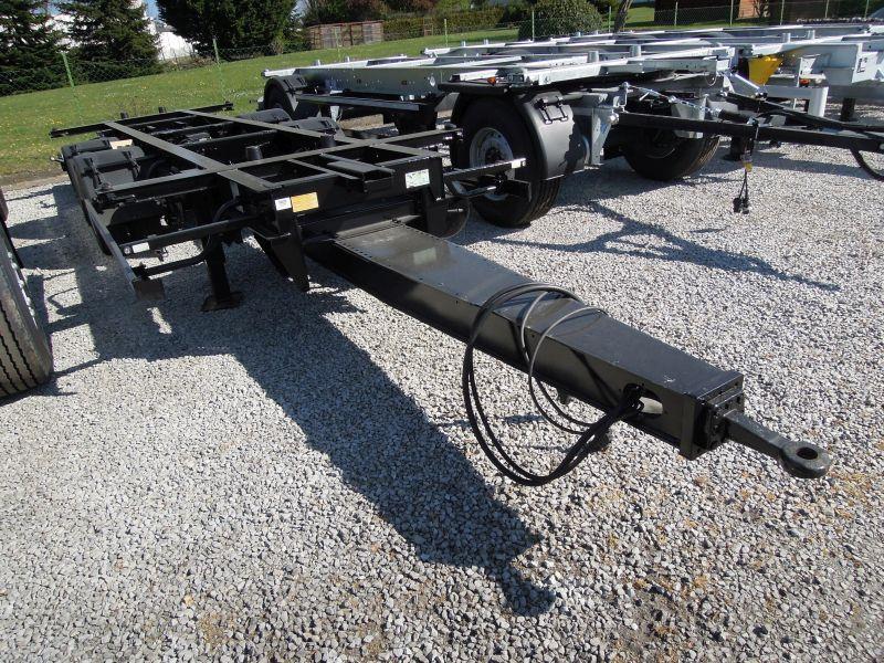 Zentralachsanhänger für Wechselaufbauten | BDF-System, Jumbo/Maxi Ausführung, Lack -NEU-