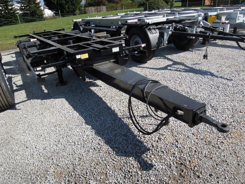 #18367 - Bild: 1 | Remolque eje-central para caja movil | BDF-System, Jumbo/Maxi Ausführung, Lack -NEU-