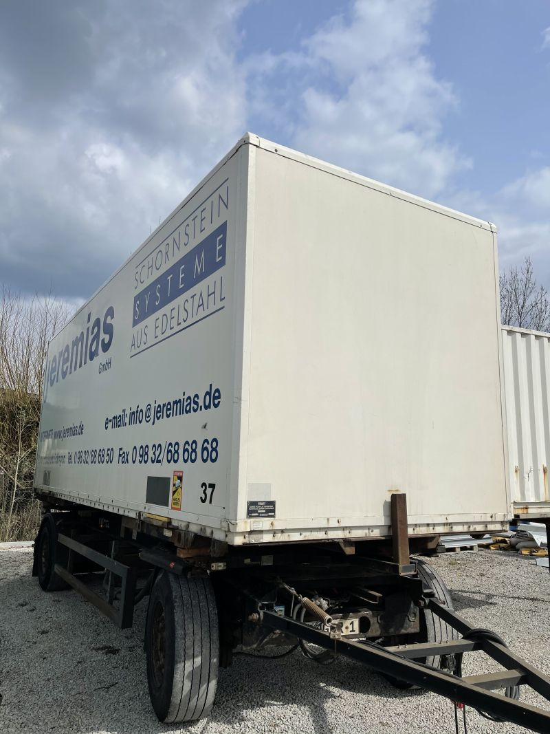 Plywood – Wechselkoffer | BDF-System 7.450 mm lang,